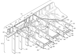 patent us6301854 floor joist and support system therefor