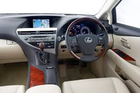 2010 lexus rx 350 price range lexus releases upgraded rx suv range