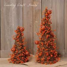 tree made from grapevine make small ones by wrapping