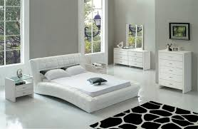 Bedrooms  White Leather Bedroom Sets White Leather Bedroom Sets - White faux leather bedroom furniture