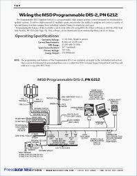 msd tachometer wiring diagram wiring diagrams