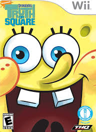 amazon com spongebob truth or square nintendo wii video games