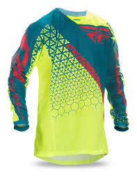 Fly Racing Kinetic Trifecta Mesh Jersey Revzilla