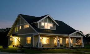house contemporary prairie style house plans