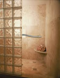 design tips for a roll in shower for an elderly parent with roll