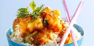 cuisiner la lotte au curry curry de lotte facile recette sur cuisine actuelle