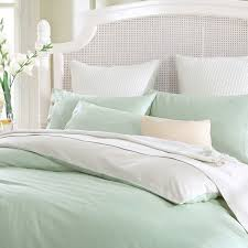 combed cotton 300 thread count mixed color frost green light khaki