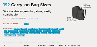 United Airline Carry On Weight Carry On Bag Sizes Tool Puts An End To Your Travel Stress