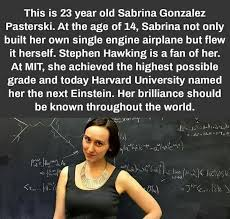 Einstein Meme - sabrina pasterski the girl behind the next einstein meme self