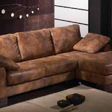 canapé marron vieilli canap cuir brun canape cuir relaxation ensemble canapac