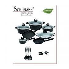 batterie de cuisine schumann batterie cuisine set de 27pcs tous feux