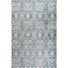 Faux Sisal Rugs Home Depot by Safavieh Sofia Blue Beige 4 Ft X 5 Ft 7 In Area Rug Sof381c 4
