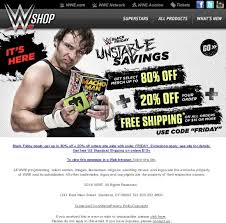 wwe black friday sale wwe shop black friday is here u2013 get up to 80 off an