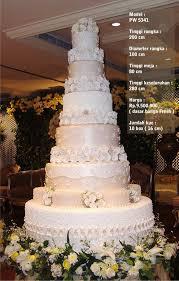 wedding cake jakarta harga wedding cake 7 tiers by pelangi cake bridestory