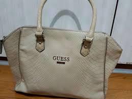 Tas Guess arsip tas guess ori warna beige jakarta timur fashion wanita