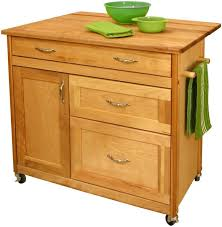 Portable Kitchen Island With Drop Leaf Kitchen 40 Catskill Craftsmen Portable Kitchen Islandcart 1521