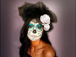 day of the dead makeup tutorial sugar skull