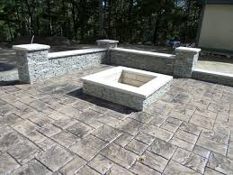 Stamped Concrete Patios Pictures by Aquidneck Island Roof Exterior House Cleaning Home