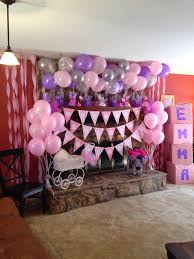 pink baby shower pink and purple baby shower baby interior design
