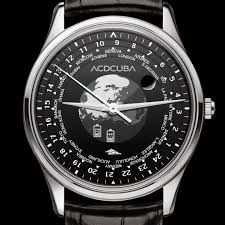World Time Map World Time Watch With Moonphase World Map Battery And Weather