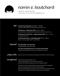 Art Director Resume About Resume But She Needs A Job