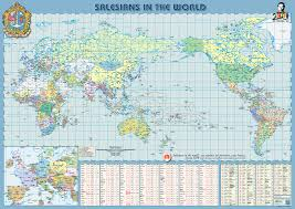 Map Of The World Printable by Resource 2015 Salesian Map Asia Centric Printable