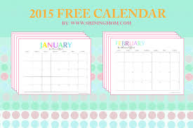 free printable mom planner 2015 free printable your pretty 2015 monthly calendars