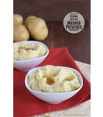 brown butter mashed potatoes thanksgiving week taste and tell
