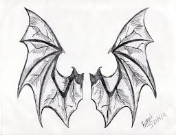 vampire demonic bat wings tattoo design photos pictures