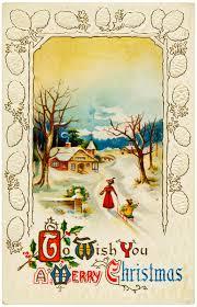 vintage christmas postcards free digital merry christmas vintage