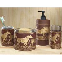 luxurious western bathroom vanity set horse cabin place on