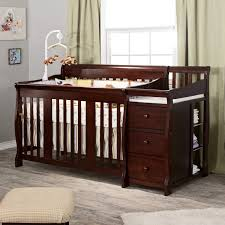 Storkcraft Princess 4 In 1 Fixed Side Convertible Crib White by Crib And Changer Combo Espresso Creative Ideas Of Baby Cribs
