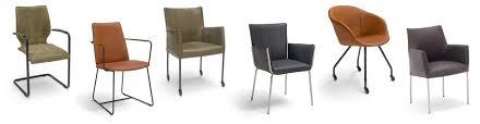 Esszimmerst Le Schwarz Leder Esszimmer Stühle Mit Armlehne Brees New World Designer Stühle Jpg