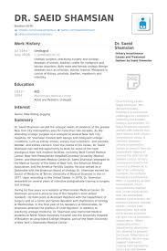 Physician Resume Examples by Urologist Cv örneği Visualcv özgeçmiş örnekleri Veritabanı