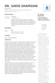 Resume Canada Sample by Urologist Resume Samples Visualcv Resume Samples Database