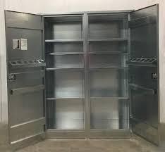 Metal Storage Cabinet Metal Storage Cabinet With Doors Storage Designs