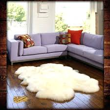 Sheepskin Area Rugs Sheepskin Area Rug Thelittlelittle