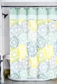 Gray Shower Curtains Fabric Yellow And Gray Shower Curtain Target Yellow And Gray Bathroom