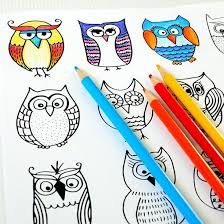 261 owl coloring pages adults images