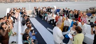 wedding on a boat weddings on the royal princess yacht ny boat charter