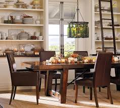 barn style dining room table interior design