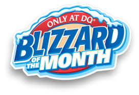 of the month blizzard treat of the month dairy