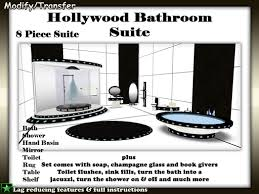 The Range Bathroom Mirrors by Second Life Marketplace Satiated Desires Hollywood Bathroom