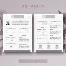 12 best flower resumes images on pinterest cover letters cv