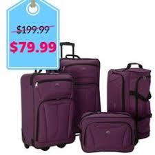 best black friday online deals for luggage prodigy avenue 4 piece luggage set black friday deal travel