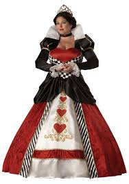 plus size queen of hearts costume