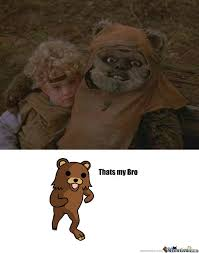 Ewok Memes - creepy ewok by quinlanmarshall meme center