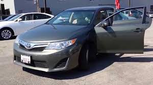 2013 toyota camry value 2013 toyota camry le green