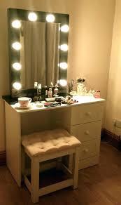makeup dressing table with mirror vanity desk with mirror and lights lighting makeup dressing table