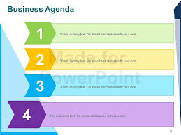 templates for business agenda powerpoint meeting agenda template business agenda editable